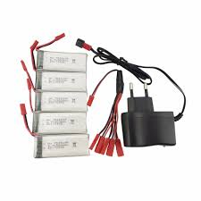 On Sale <b>5PCS 3.7V</b> 900mah <b>lithium</b> Battery With 1 Rechargeable ...