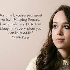 Greatest 8 celebrated quotes by ellen page wall paper English via Relatably.com