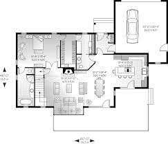 Topsail Waterfront Home Plan D    House Plans and MoreModern House Plan First Floor   D    House Plans and More