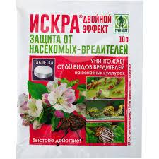 Средство для защиты садовых растений от вредителей <b>Искра</b> ...