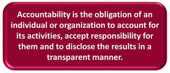 Image result for accountable quotations