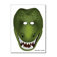 Image result for dinosaur masks to print
