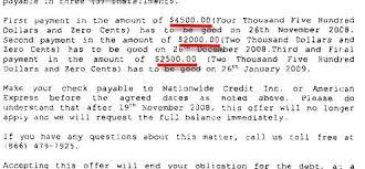 american_express_sample_debt_settlement_letter sample settlement letter