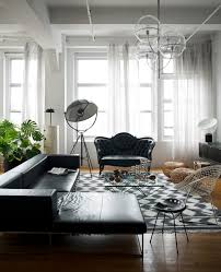 Modern Victorian Living Room Wicker Furniture In Modern Interior Black Design Photo Ideas