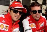 Felipe Massa and Fernando Alonso. Formula One - felipe-fernando