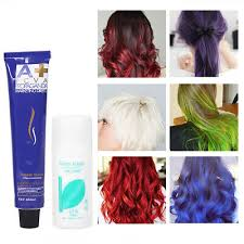 <b>100ml professional permanent hair</b> dye cream violet purple color