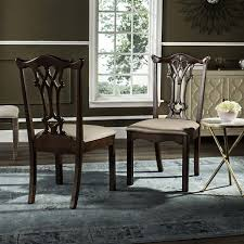 specifics upholstered dining chairs mahogany inspired by the finest british manor houses this mahogany chippendale