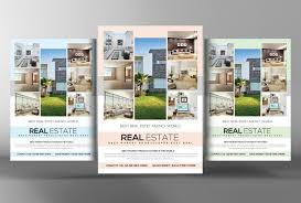 real estate flyer psd templates graphic cloud real estate brochure flyer