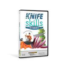 knife skills for foodservice and culinary dvd