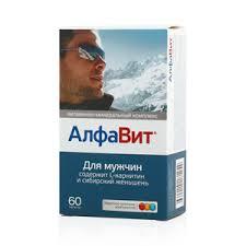 <b>Алфавит</b> для мужчин <b>таблетки 60</b> шт купить по цене 524,0 руб в ...