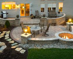 contemporary exterior with charming patio paver designs and gorgeous garden lights also captivating outdoor furniture design charming outdoor furniture design