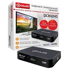 🤑 TV-<b>тюнер D</b>-<b>COLOR DC820HD</b> the ideal