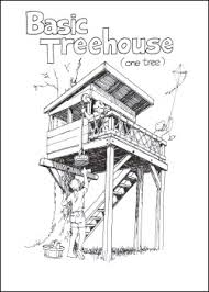 TREELESS TREE HOUSE PLANS Â  Home Plans  amp  Home DesignTreelesstreehouse com   Building Treehouses  out Trees
