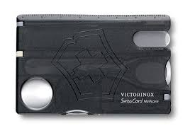 <b>Швейцарская карточка Victorinox SwissCard</b> Nailcare, красная ...