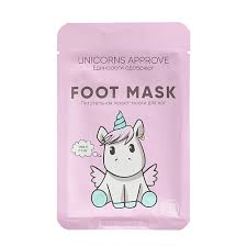 Питательная <b>маска</b>-<b>носки для ног</b> Unicorns Approve