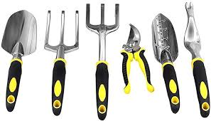 SONGMICS Garden Tool Set 6-Piece Garden Kit with ... - Amazon.com