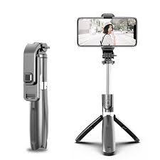 SRK-SSL02 2 in 1 Bluetooth Selfie Stick Sports Camera Anti-Shake ...