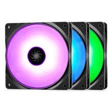<b>Вентилятор</b> для корпуса <b>DEEPCOOL</b> 500-1500RPM PWM RGB ...