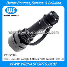 Cree Q5 <b>Led</b> Flashlight <b>1</b>-<b>mode</b> 270lm Tactical Torch <b>C8</b> - Buy <b>Led</b> ...