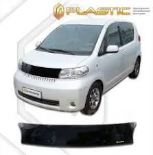 <b>Дефлектор капота CA</b> (мухобойка) <b>Toyota</b> Porte 2004-2012 ...