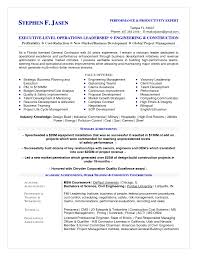general contractor resumes independent resume example template gallery of building contractor resume