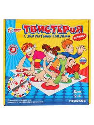 <b>Настольная игра Твистер</b> Умка 8457033 в интернет-магазине ...