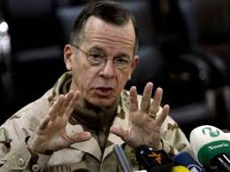 Washington, Sept 4 : US Joint of Chiefs of Staff Committee Chairman, Admiral Mike Mullen, has said that he was taken aback by the magnitude of the flooding ... - Admiral-Mike-Mullen