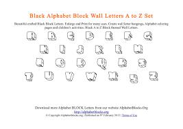 alphabet blocks a to z pdf templates alphabet blocks org alphabet block wall letters a to z