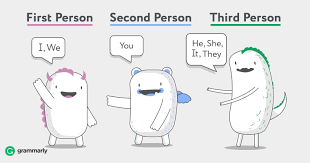 <b>First</b>, Second, and Third Person–Ways of Describing Points of View ...
