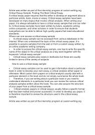 Culture and Anarchy  An Essay in Political and Social Criticism     On summary essay An analysis criticism