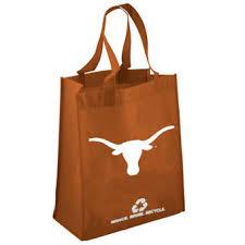 texas longhorns burnt orange reusable tote bag burnt red home office