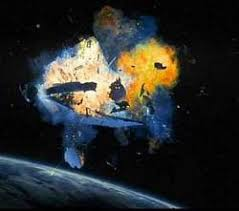 「2009, two satellites crash and their crews」の画像検索結果