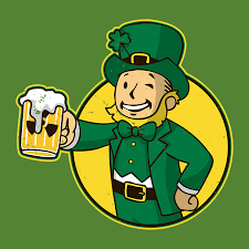 <b>Irish Vault Boy</b> T-Shirt - The T-Shirt Vault