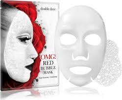<b>Баббл</b>-<b>маска</b> Double Dare, <b>очищающая с экстрактами</b> 8 красных ...