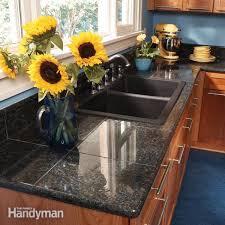diy tile kitchen countertops: granite countertops how to install granite tile