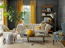 decorations bedroom yellow gray decor