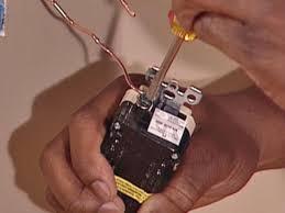 code bathroom wiring: start with ground wire to attach gfci