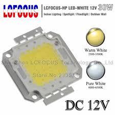 DC 12V High Power LED COB Chip 1W <b>3W 5W 10W 20W</b> 30W 50W ...
