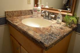 design bathroom sink countertop installation