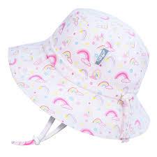 <b>Kids</b>' Gro-With-Me® Cotton Bucket Hat   <b>Rainbow</b> - JAN & JUL by ...