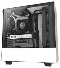 <b>Компьютерный корпус NZXT H500</b> White/black — купить по ...