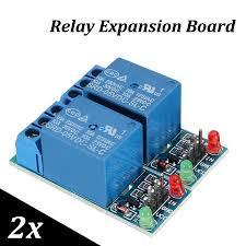 <b>2Pcs 5V 1</b>-<b>Channel</b> Relay Module Low Level Trigger Expansion ...