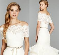 <b>Off Shoulder</b> Lace Wedding Jackets Online | Lace <b>Off Shoulder</b> ...
