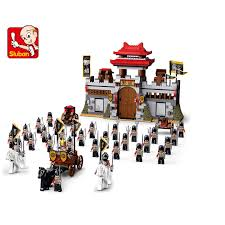 <b>Sluban Model Building Kits</b> City Castle Blocks 3D Educational Three ...