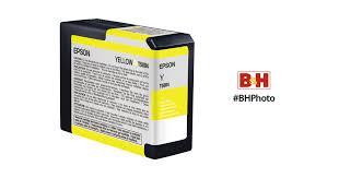 <b>Epson</b> UltraChrome K3 <b>Yellow</b> Ink Cartridge (<b>80</b> ml) T580400 B&H