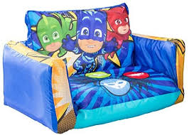 PJ Masks Flip Out <b>Mini Sofa</b> - 2 in 1 kids <b>inflatable sofa</b> and lounger ...