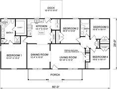 Simple One Floor House Plans   home plans Queen Anne Home Plans    First Floor Plan of Ranch House Plan