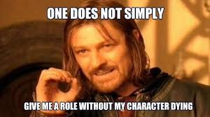 Walking Spoiler of a Man Sean Bean to Change Surname to Sean Meme ... via Relatably.com