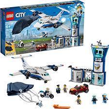 LEGO City Sky Police Air Base 60210 Building Kit ... - Amazon.com