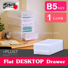 storage box b5 japan made stack storage case file box plastic drawer case stackable office desk boxes stack office file